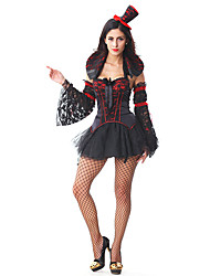 Gothic Vampire Witch Adult Women's Halloween Costume