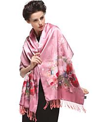 Zizhen Women's Casual Silk Scarf