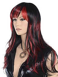 Women Wavy Long Hair Synthetic Cosplay Wigs