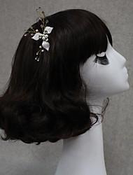 Женский Стразы Сплав металлов Заставка-Свадьба Особые случаи Цветы Заколка для волос
