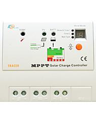 epsolar 20a 100v MPPT controlador de carga solar tracer2210rn 2 anos de garantia y-solar