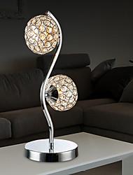 maishang® lampes en cristal de bureau, métal moderne / contemporaine