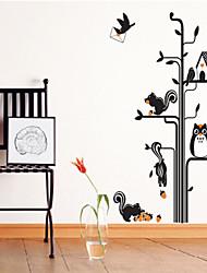 "Yi Chen ® Wall Sticker,Owl And Pine Tree 70*50cm(27.6""x19.7"")"