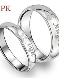 Couple de Bagues ( Acier au titane ) Mariage/Soirée/Quotidien/Casual/Sports