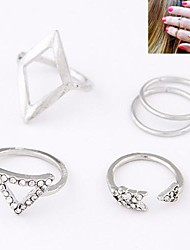 Fashion Metal Wild Personality Ring (5pcs)