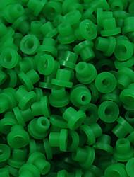 itatoo ™ 200pcs verts oeillets de tatouage caoutchouc mamelons de tatouage pour des aiguilles de tatouage