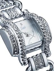 Women's 2015 Unique Fashion Exaggerated Vintange Full Diamond Bracelet Watch Quartz Analog Bohemian