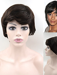 #2 Brazilian Human Hair wig wigs Exquisite Women's Hairstyle Brown Elegant Short Hair Wigs In Stock GH08