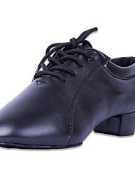 Sapatos de Dança ( Preto ) - Homens/Crianças Latim/Moderno