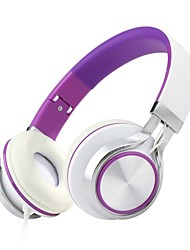 MS200 Headphone Lightweight Portable Adjustable Over Ear Stereo Headset for PC MP3 MP4 Tablet Most Smart Phones