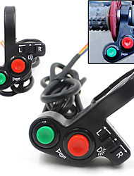 "7/8"" Multi-function Motorcycle Offroad Horn Turn Signal On/Off Light Switch 12V-24"