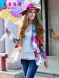 Pink Doll® Women's Casual/Print Medium Long Sleeve Regular Blazer