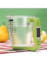 balança de cozinha de medição eletrônico copo 1 kg