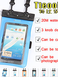 "Tteoobl 4.8""~5.9"" 20M Mobile phone Waterproof Bag Underwater Dry Case Pouch Cover Swim Diving For Samsung Note 2 3"