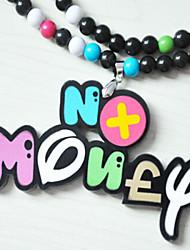 Для вечеринок/Повседневные - Ожерелья с подвесками/Медальоны Ожерелья ( Акрил )