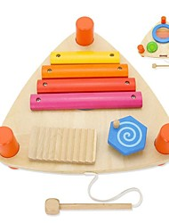 benho centro de música triángulo instrumento juguete del bebé