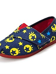 Boys' Shoes Casual Canvas Loafers Navy