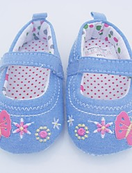 Baby Shoes Casual Customized Materials Flats Blue