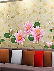 Environmental Water Lily Shaped Wall Sticker