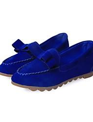 Mocasines ( Negro/Azul/Marrón/Borgoña Comfort/Dedo Puntiagudo - Plataforma - Cuero sintético - para MUJERES