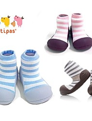 Attipas Super Lightweight Baby Girls Boys Infant Shoes Anti-slide First Walker Nutural Hurb Stripe Style Toddler Shoes
