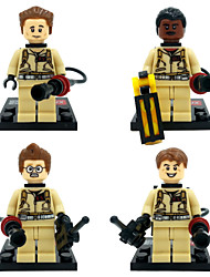 XINH 108-111 Ghostbusters Minifigures 4pcs/lot Building Blocks Sets Model Bricks Toys For Children No Original Box