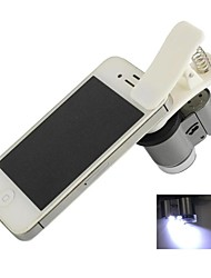 clip-on universale 65x Microscopio per iPhone / iPad / samsung / htc / sony (3 x LR1130)