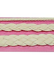 laço molde trançado molde do bolo corda