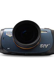 "SIV-M5 A7 1296P Car DVR with2.7"", HDR Night Vision  170' Wide Angle  FCWS LDWS - Black + Blue"
