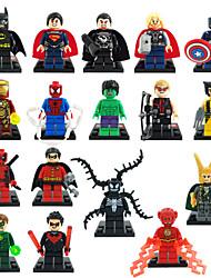 super-héros The Avengers Figurines 18pcs / lot Iron Man batman blocs de construction jouets