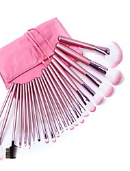 22Pcs Superior Soft Pink Cosmetic Make Up Brush Set