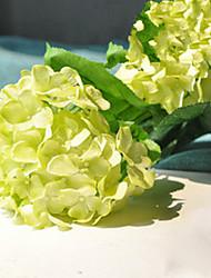 """34"""" High Large Green Hyfrangeas Artifical Flowers"""