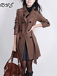 Women's fashion double-breasted coat OUTW13