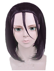 Angelaicos Unisex New Yowamushi Pedal Toudou Jinpachi Girl Short Black Anime Halloween Costume Party Cosplay Wig