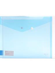 5505 a4 синий оснастки крепится пластиковые папки (10шт)