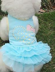 Lovely Flash Diamond Tutu Princess Dress  for Pets Dogs (Assorted  Sizes)