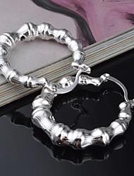 Earring Stud Earrings Jewelry Women Silver 2pcs Silver