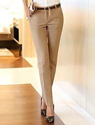 Women's Yellow Suit Pants , Work
