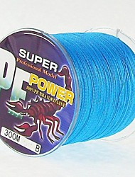 300M / 330 Yards PE Braided Line / Dyneema / Superline Fishing Line Blue 28LB / 25LB / 20LB / 18LB / 10LB / 8LB / 15LB