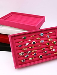 Modern Women's Open Ring Boxes Jewelry Box-Four Colors Available