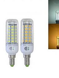 15W E14 LED лампы типа Корн T 56 SMD 5730 1344 lm Тёплый белый / Холодный белый AC 220-240 V 1 шт.