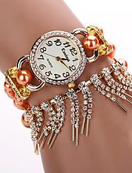 W&Q  Gold Plated Watch Women Brand Kanima Wristwatches Ladies Beauty Full Crystal Quartz Dress Watch Female