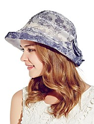 Kenmont Spring Summer Women Lady 100% Real Silk Sunscreen Bucket Hat Vacation Beach Sun Cap Adjustable Size 3038
