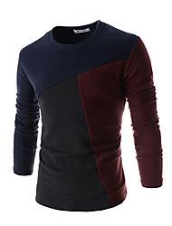 God Men's Splice Slim Sweater