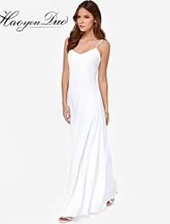 Haoyouduo Women's Sexy Backless Party Maxi Dress