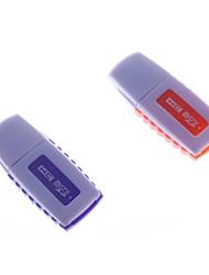 usb lector de tarjetas del tf 2.0 de alta velocidad de transmisión de soporte de conexión en caliente (colores surtidos)