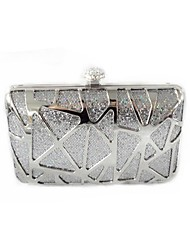 Women's Fashion Metal Evening Handbag And Clutch