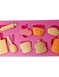 Silicone Mould Kitchen Utensils Cupcake Top Mould