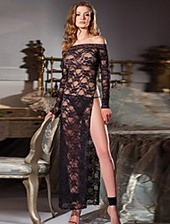 Women's Floral Sexy Gown with Slit