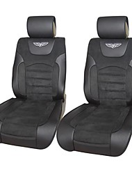 Auto Youth Velour Leather Deluxe Car Seat Cushions Universal Fit is Compatible with Most Vehicles